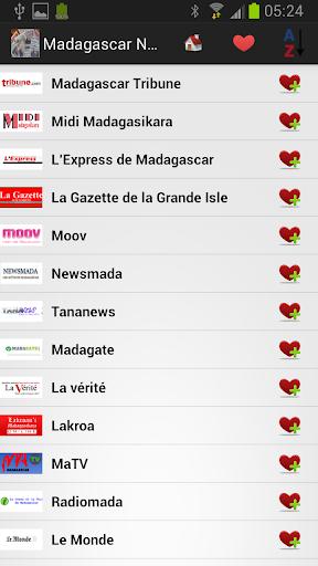 马达加斯加报纸和新闻
