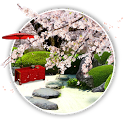 Zen Garden -Spring- LWallpaper icon