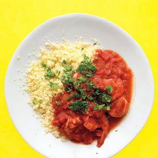Shrimp In Spiced Tomato Sauce