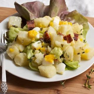 Potato Salad with Bacon, Egg, and Tarragon Dressing