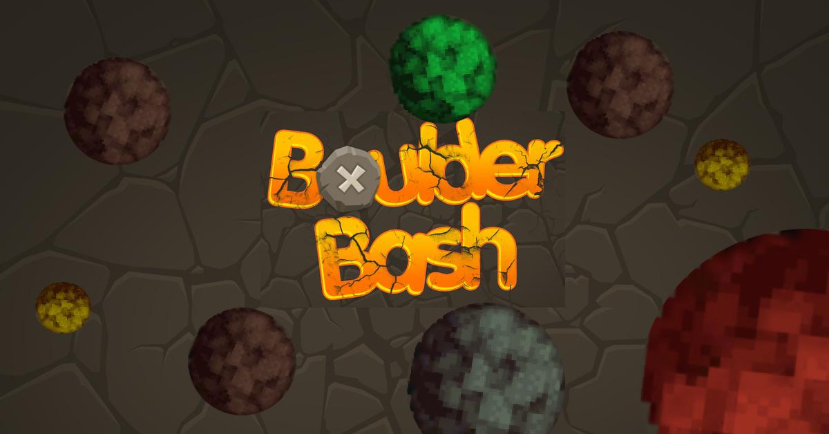 Boulder Bash- screenshot