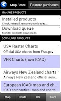 Screenshot of Air Navigation Pro