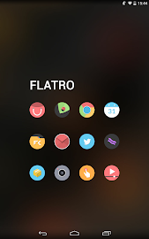 Flatro - Icon Pack Screenshot 8
