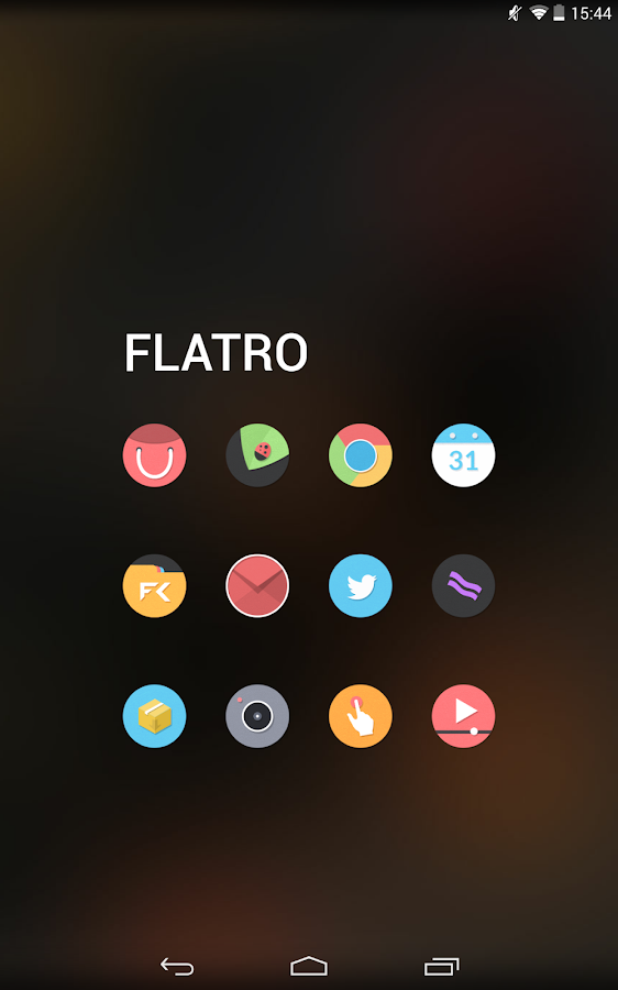 Flatro - Icon Pack - screenshot