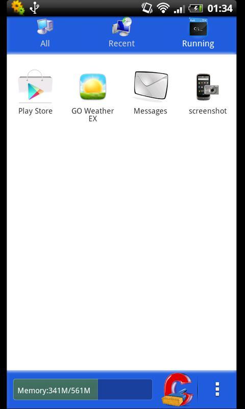 Go Launcher Ex Theme Windows - screenshot