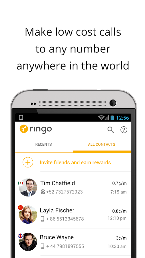 Ringo: International Calling - screenshot