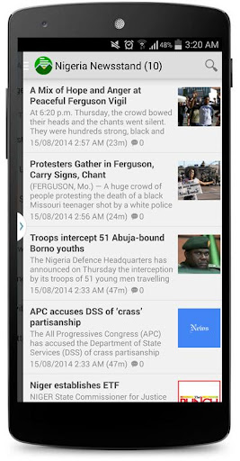 Nigeria Newsstand