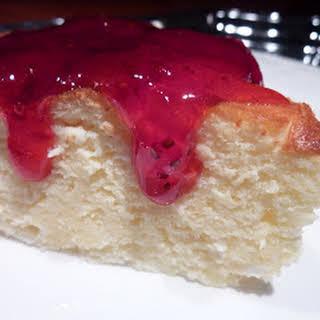 Japanese Style Cheesecake.