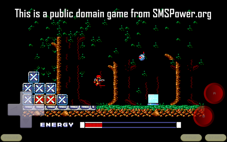 MasterGear - SMS/GG Emulator Screenshot