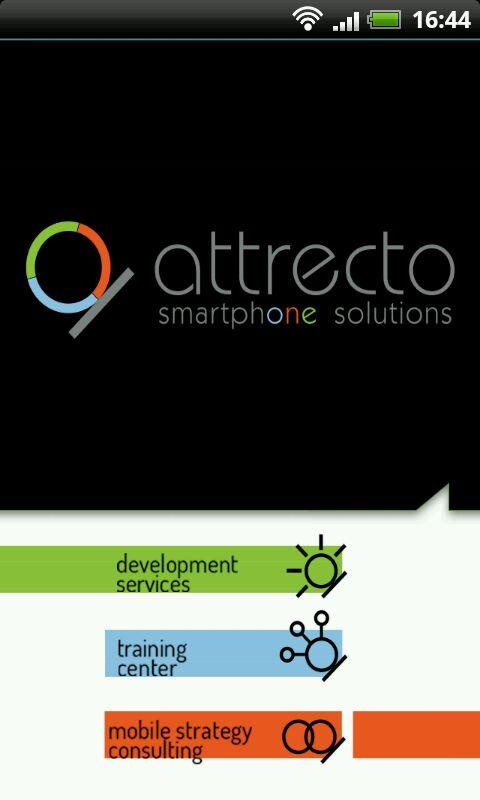 Attrecto Smartphone Solutions - screenshot