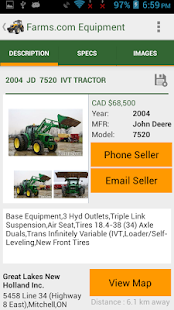 Farms.com Used Farm Equipment- screenshot thumbnail