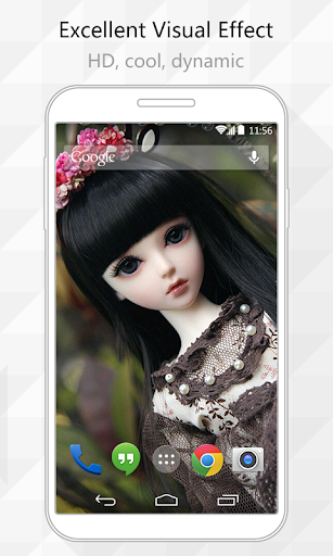 Princess Doll Live Wallpaper