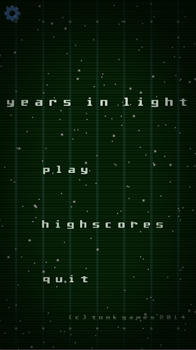 years in light
