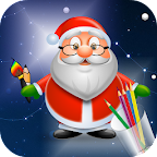 Draw Step by Step Santa Claus