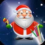 Draw Step by Step Santa Claus