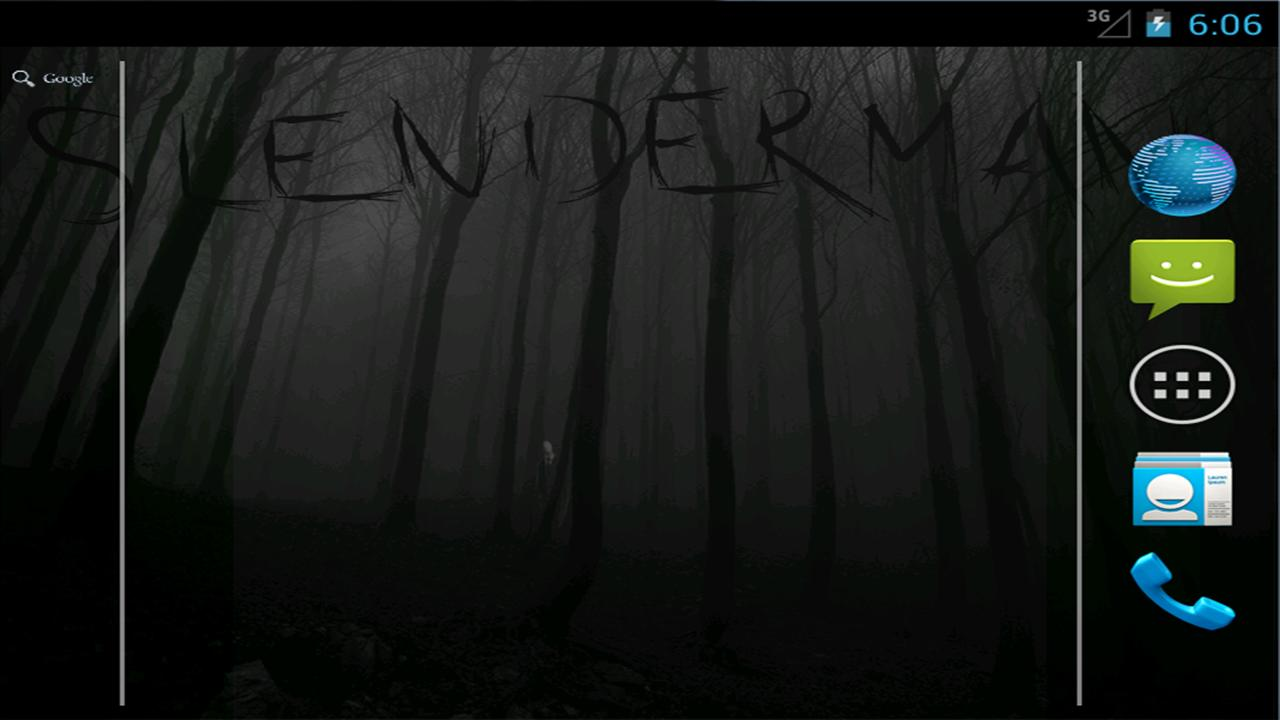 Slender Man! Live Wallpaper - screenshot