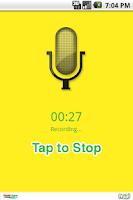 Screenshot of Say it