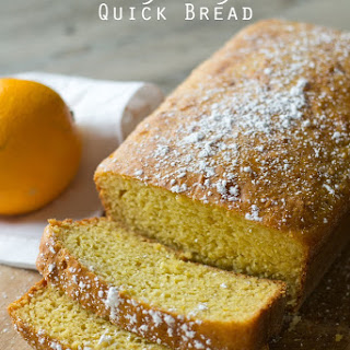 Orange Yogurt Quick Bread