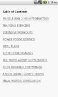 Screenshot of Basics Of Body Building
