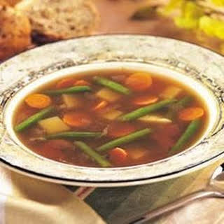 Easy Vegetable Soup With Frozen Vegetables Beef Recipes.