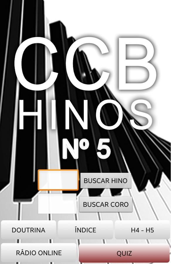 Hinário Virtual Nº 5 - CCB - screenshot