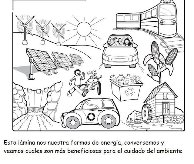 Las 5 Erres Para Cuidar El Planeta Laminas Para Pintar
