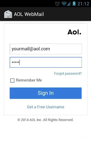 Connect for AOL Mail
