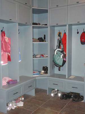 How Deep Are Your Mudroom Lockers