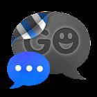 GO SMS THEME - Smooth DeepBlue icon