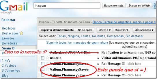 Gmail - Spam (5) - 1
