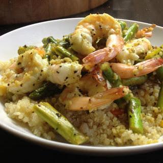 Lemony Shrimp and Quinoa