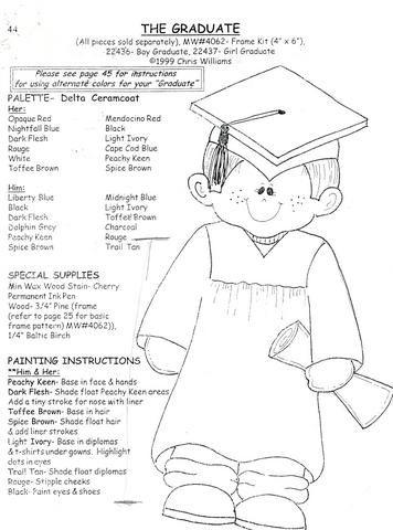 Colorear Dibujos De Graduacion Infantil