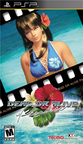 Dead or Alive Paradise (PSP) ENG