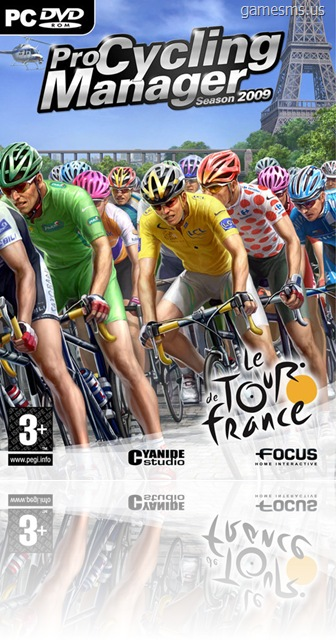 Pro Cycling Manager 2009 Cover