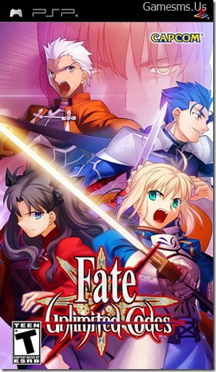 Fate: Unlimited Codes (PSP)
