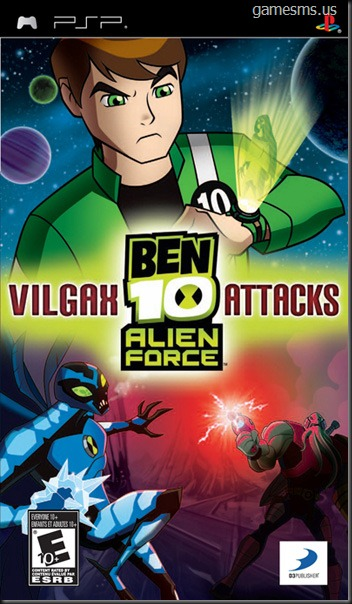 BEN 10: ALIEN FORCE - Vilgax Attacks PSP