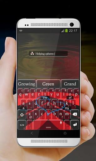免費下載個人化APP|紅 TouchPal Theme app開箱文|APP開箱王