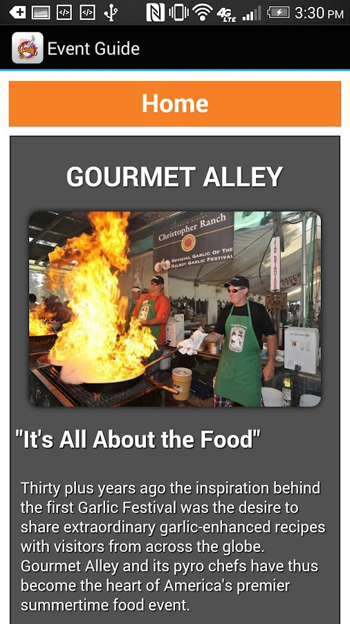 Gilroy Garlic Festival - screenshot