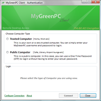 MyGreenPC – Remote PC Access Free Premium Accounts