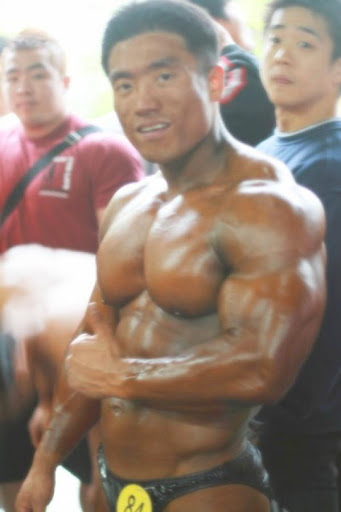 Japan muscle man