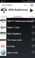 Screenshot of Norsk Radio