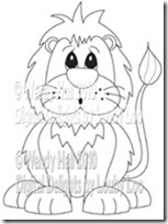 Lenny the lion watermark