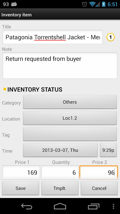 Barcode & Inventory Pro- screenshot
