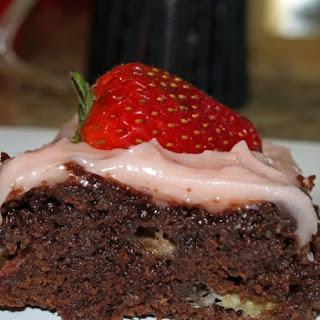 Strawbana Brownies