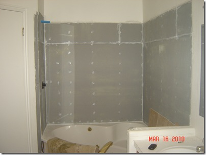 master bathroom reconstruction part 2 of 3 home hinges home