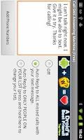 Screenshot of Missed Call Texting Machine