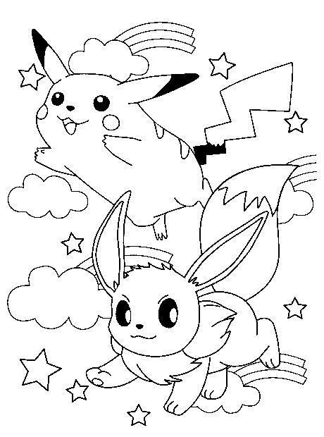 Dibujos De Pokemon Para Colorear