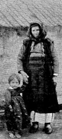 Starica s djetetom