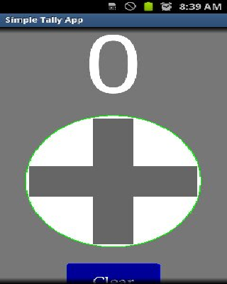 Simple Tally And Counter App