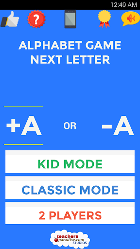 【免費教育App】Alphabet Game - Next Letter-APP點子